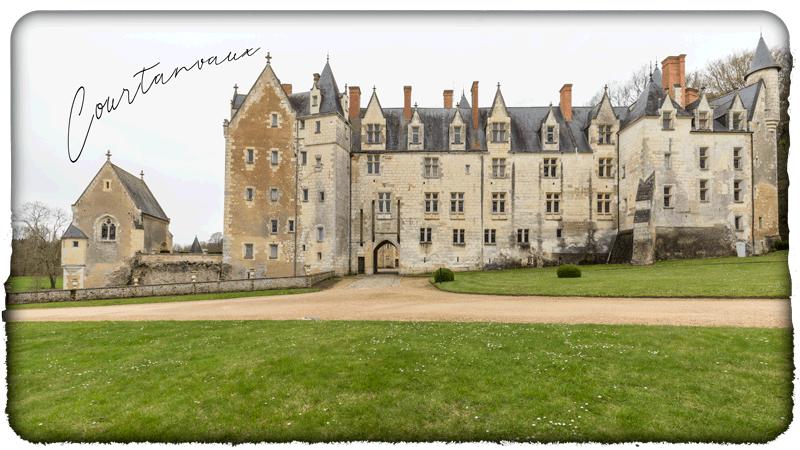 Visite virtuelle du Château de Courtanvaux