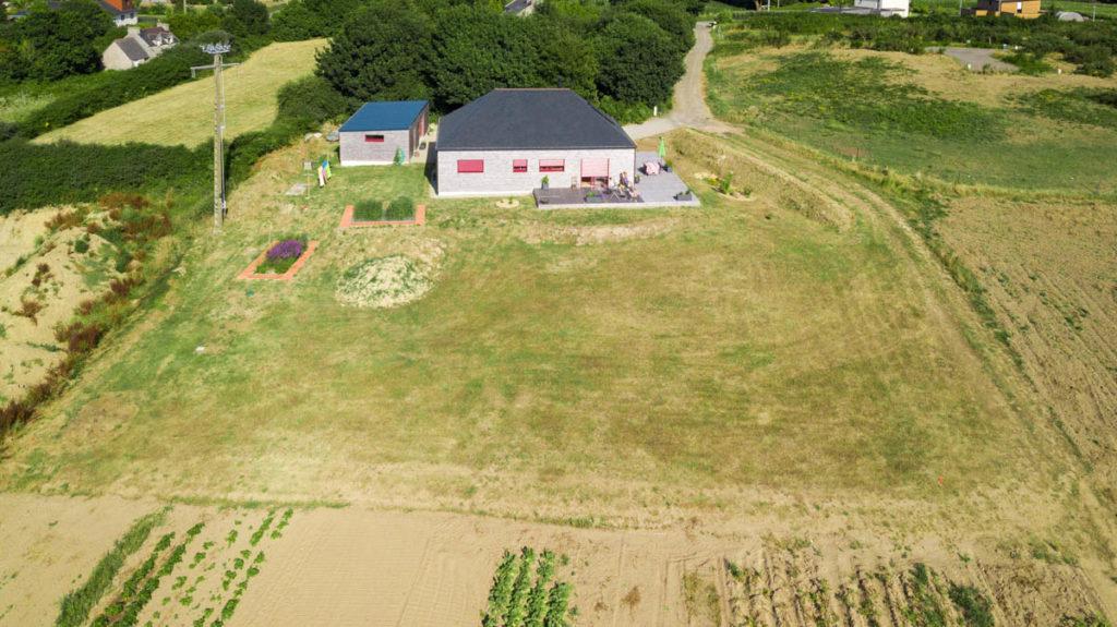 Photo aerienne immobiliere par drone