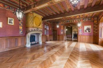 Photo immobilière standing au Château de Courtanvaux à Bessé Sur Braye, Sarthe