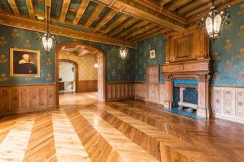 Photo immobilière de luxe au Château de Courtanvaux à Bessé Sur Braye, Sarthe