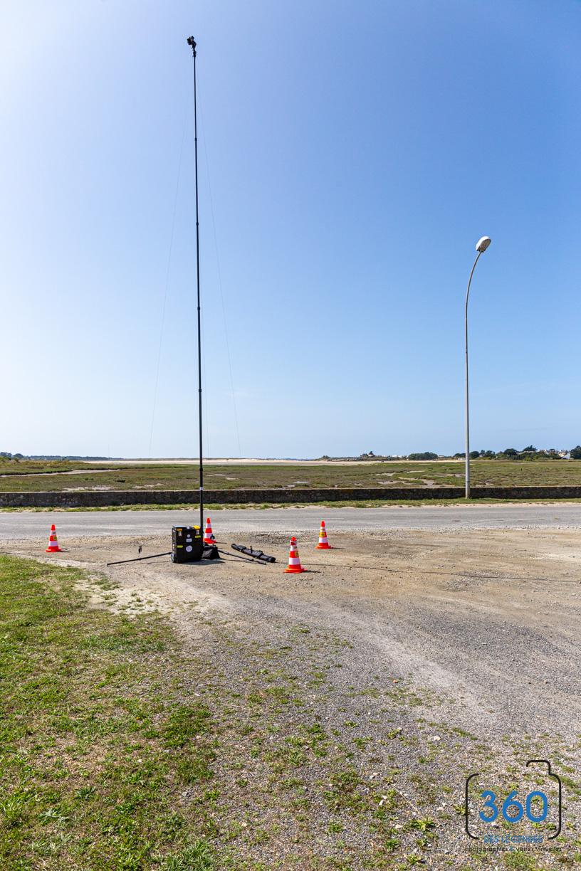 photo video hauteur mât