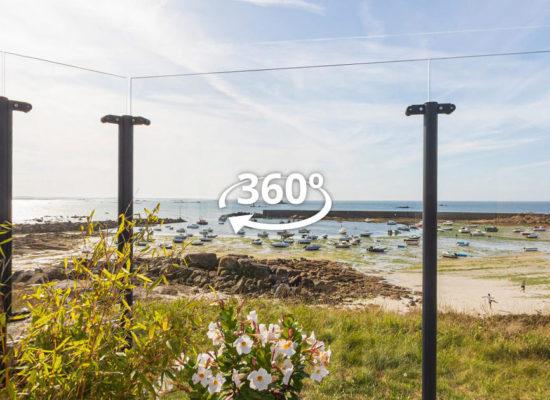Visite virtuelle 360° pare-vent Menoral à Porsguen