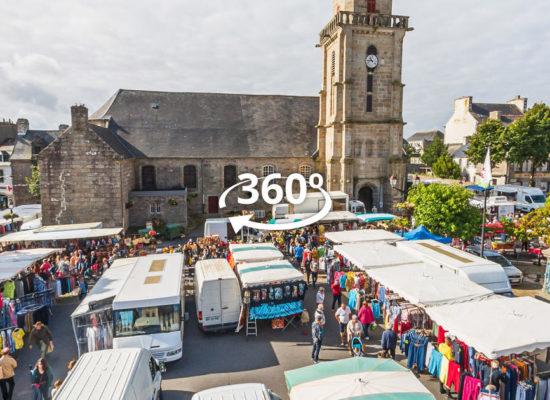 Visite Virtuelle à 360° du Marché de Lesneven