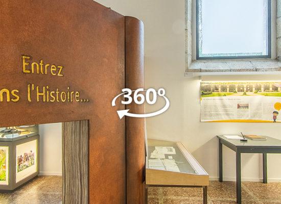 Visite virtuelle interactive à 360° du Musée du Léon, à Lesneven