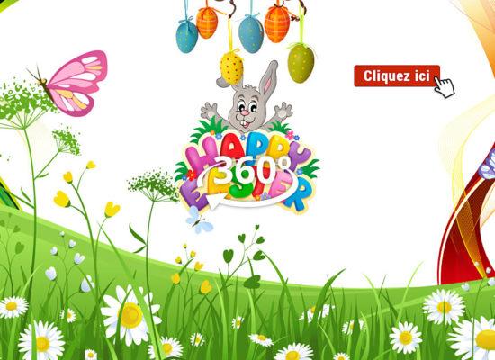 Chasse aux œufs de Pâques à 360° en Côte Des Légendes
