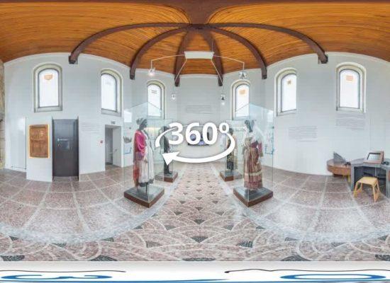 Visite virtuelle interactive en vidéo à 360° au Musée du Léon